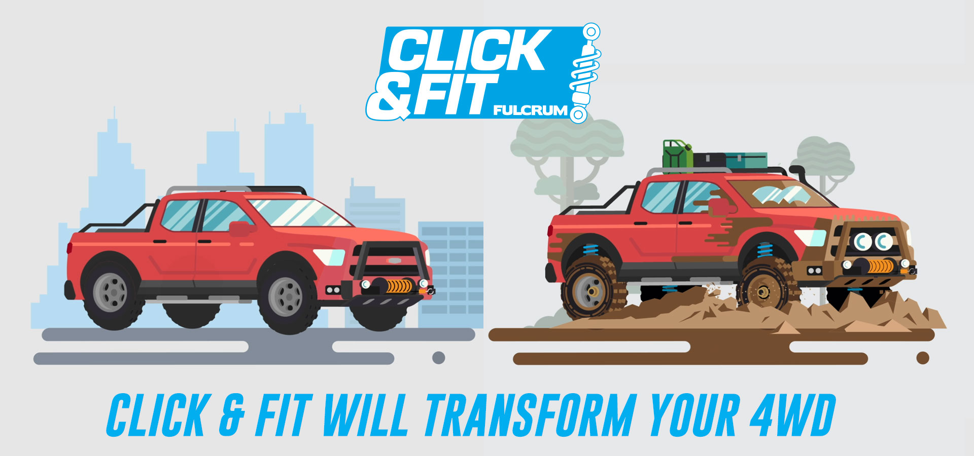 Click & Fit 4WD Upgrade
