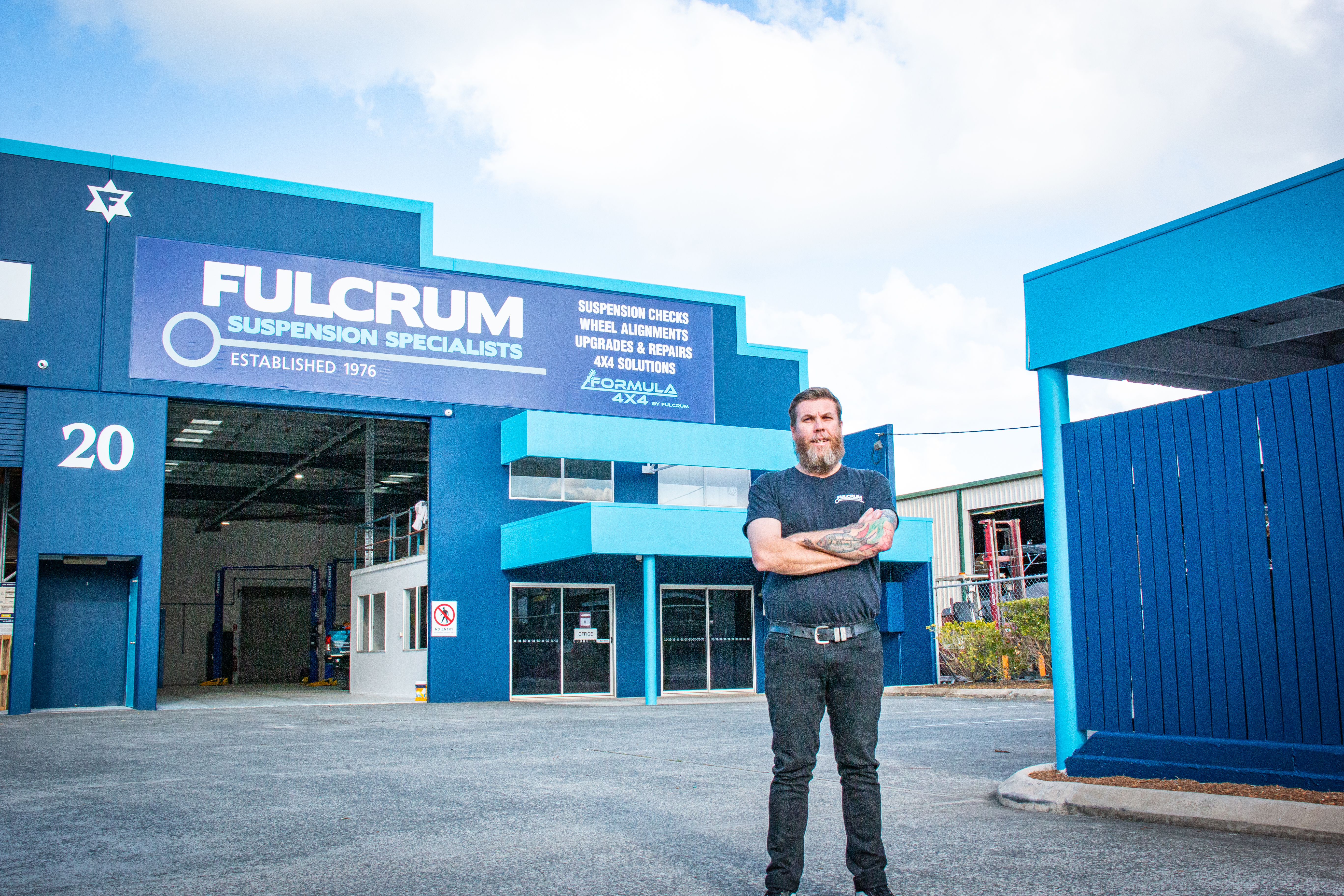 IMPORTANT UPDATE: There's a new Fulcrum Workshop...