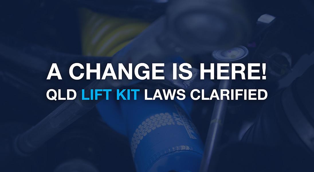 Legal Lift Kits Queensland Laws Clarified.