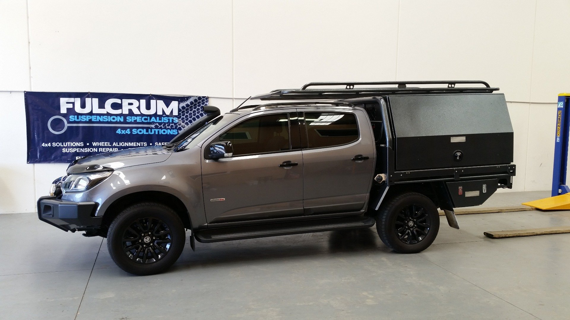 Bilstein Lift Kit fitted to a Holden Colorado