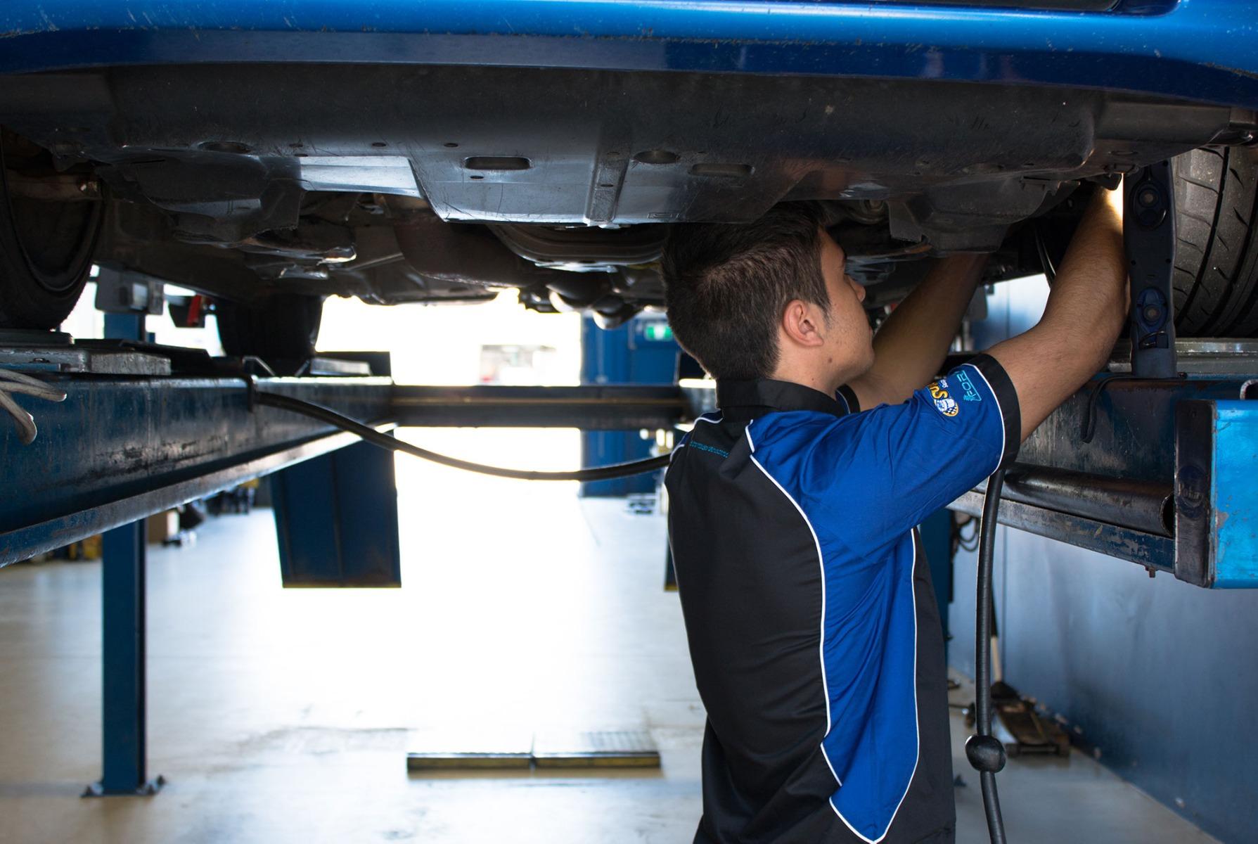 Car Suspension Inspection