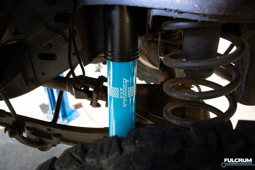 Formula 4x4 Big Bore Shock Absorber Installed Nissan Patrol