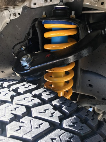 Bilstein 2 lift kit installed at Fulcrum Suspensions for Toyota Hilux